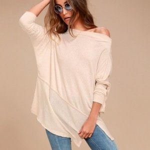 Free People Londontown Thermal Pullover